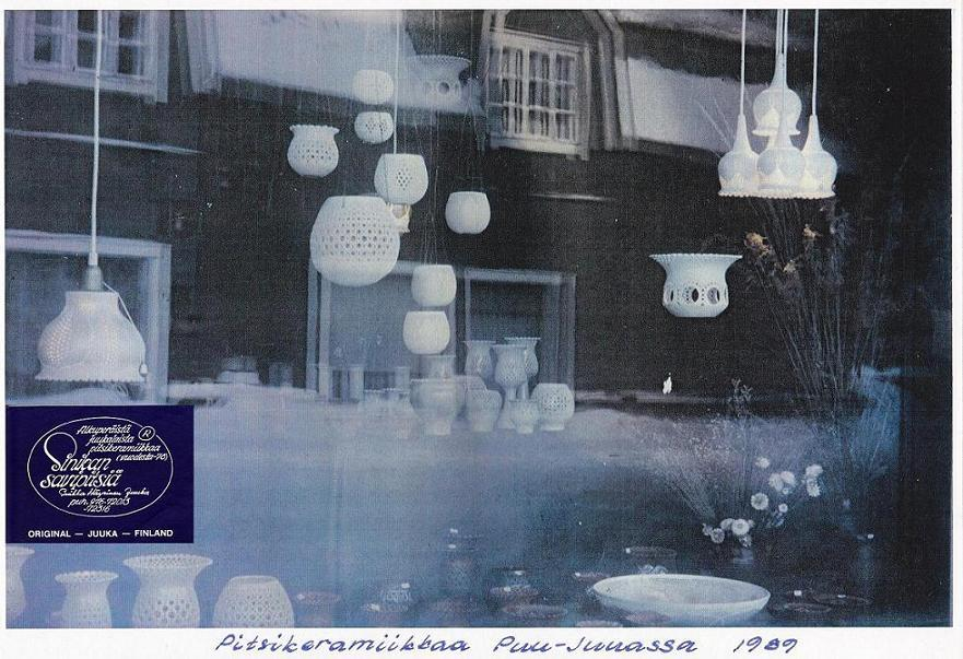 Sinikan Savimari Vikilan talossa Puu-Juuka 1989