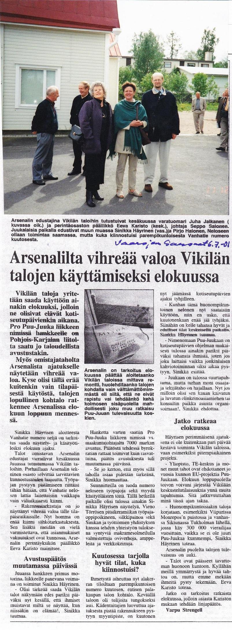 Puu-Juuka / Karjalainen