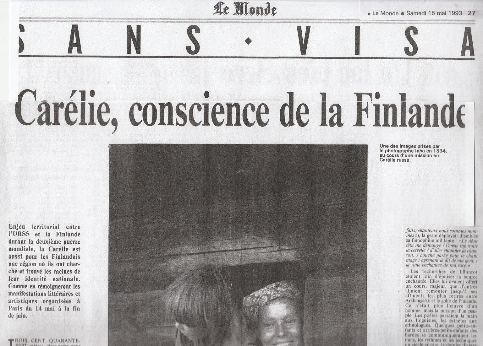 Le Monde 1993